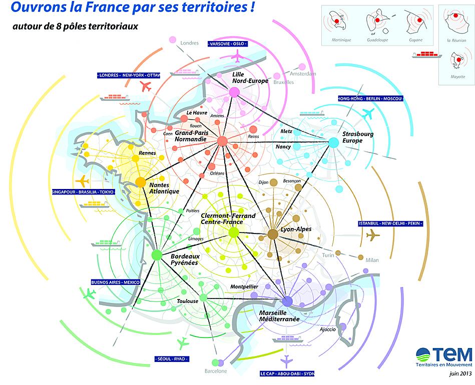 A3 france villes carrée